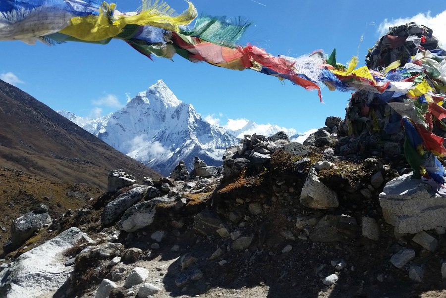 Everest Base Camp - Prayer Flags