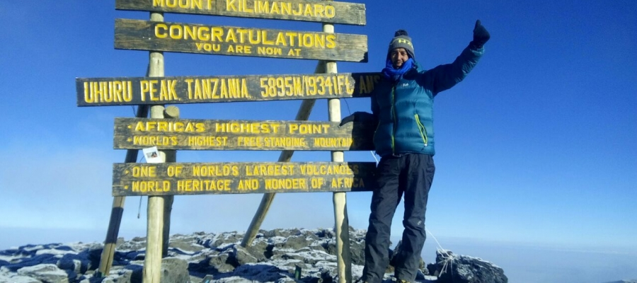 Mohamed's Kilimanjaro Adventure
