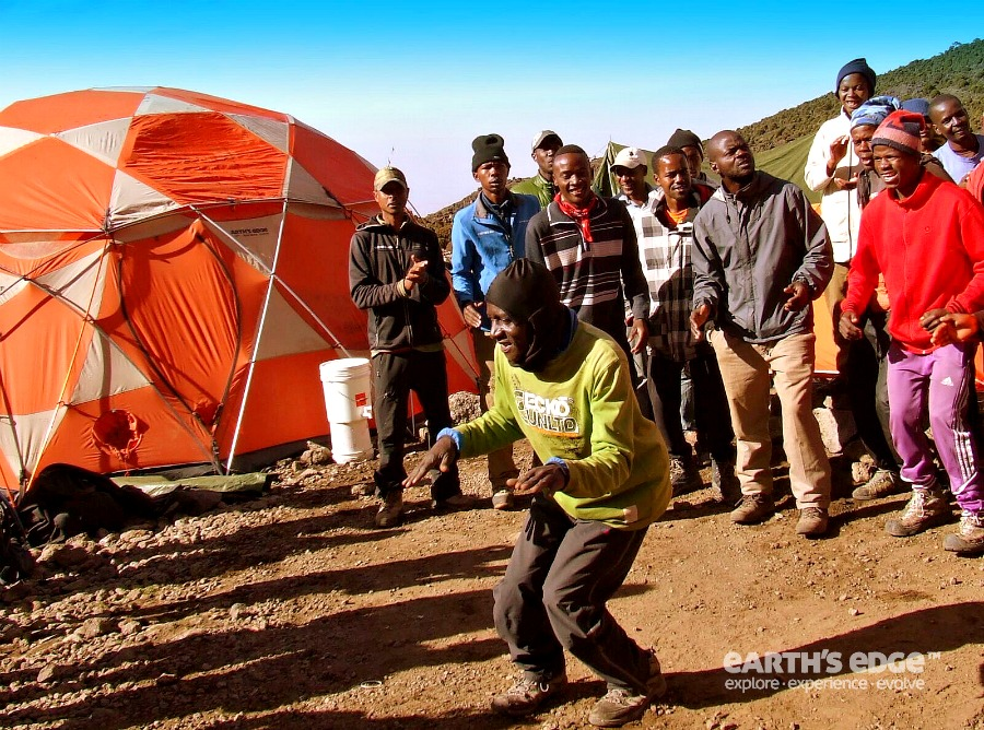 Earth's Edge - Kilimanjaro climb