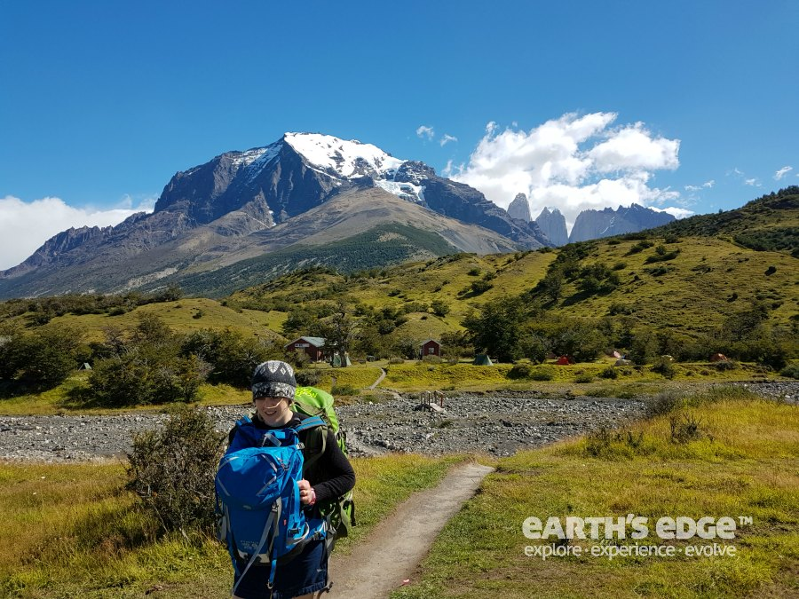 Beginning our journey from Torres del Paine back to Ireland!