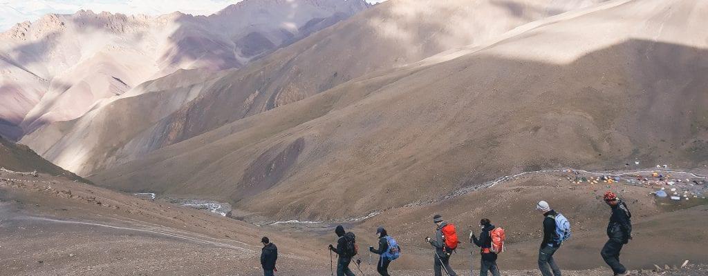 Stok Kangri trekking
