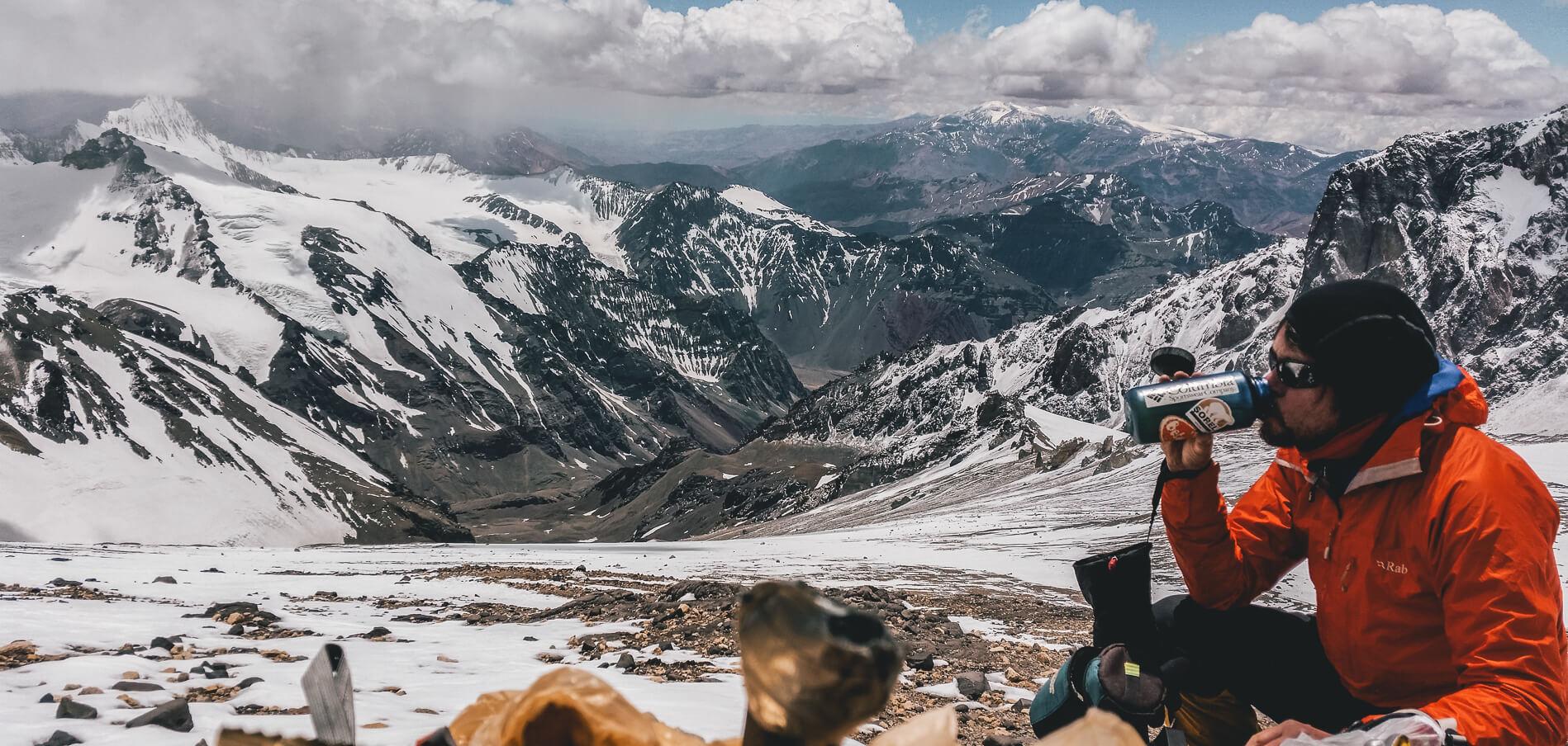 Aconcagua camp with Earths Edge