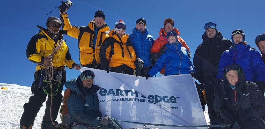 The team on summit.