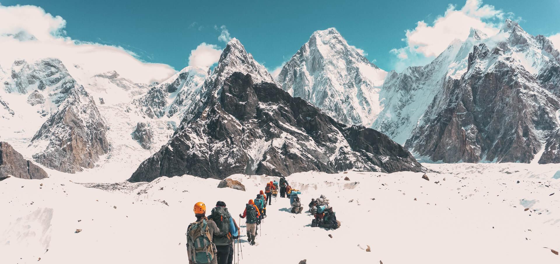 Climb K2 with Earths Edge
