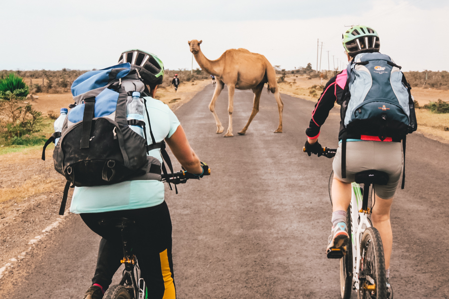 Cycling on the Kenya Tri-Adventure