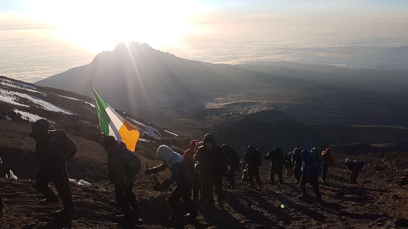 Pole pole Kilimanjaro