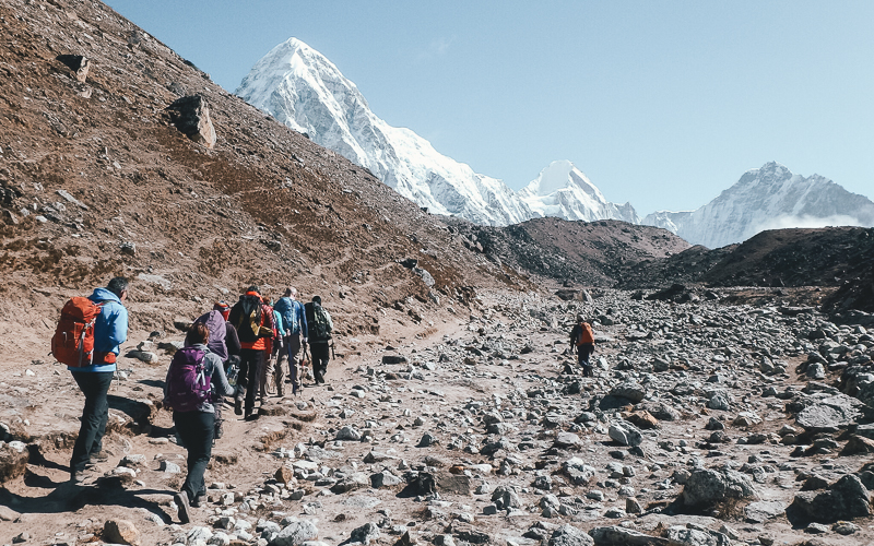 Altitude Sickness on Everest Base Camp