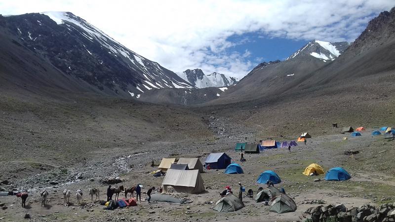 Stok Kangri Camping