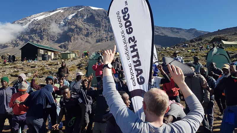 Singing on Kilimanjaro
