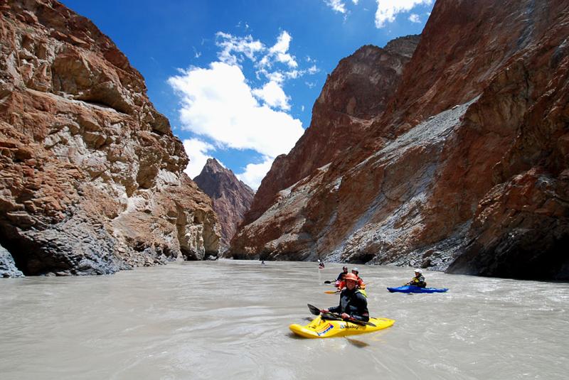 Kayaking in Ladakh
