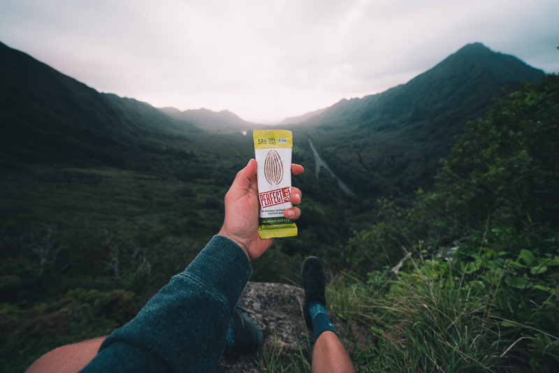 Energy bars for hiking