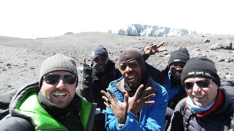 Guides on Kilimanjaro