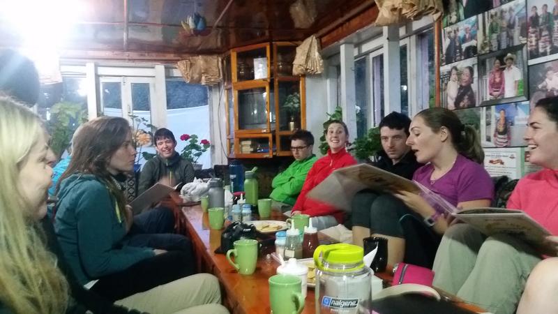 Teahouses on Everest base Camp