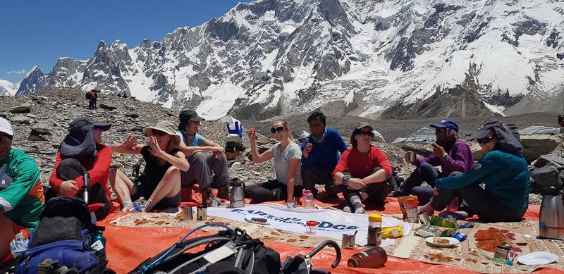 K2 base camp trek rest day