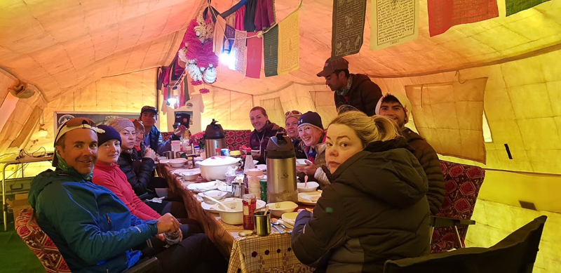 Broad peak camp K2