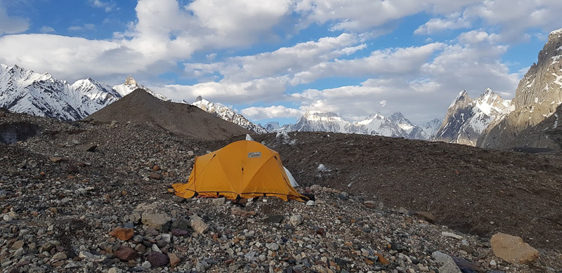 Camping in Pakistan