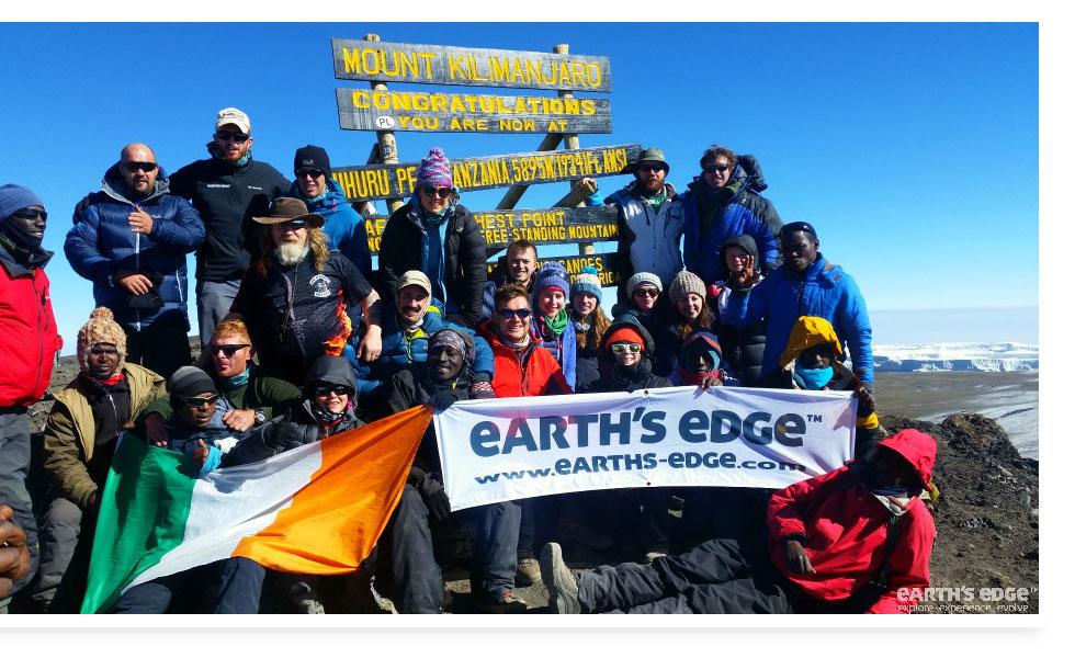 Climbing Kilimanjaro with Earth's Edge
