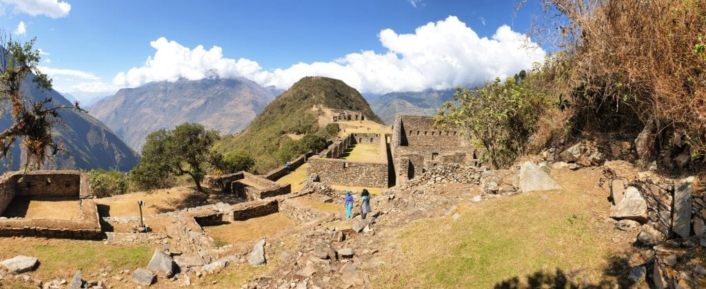 Choquequirao. Visiting this site is the highlight of the trek.