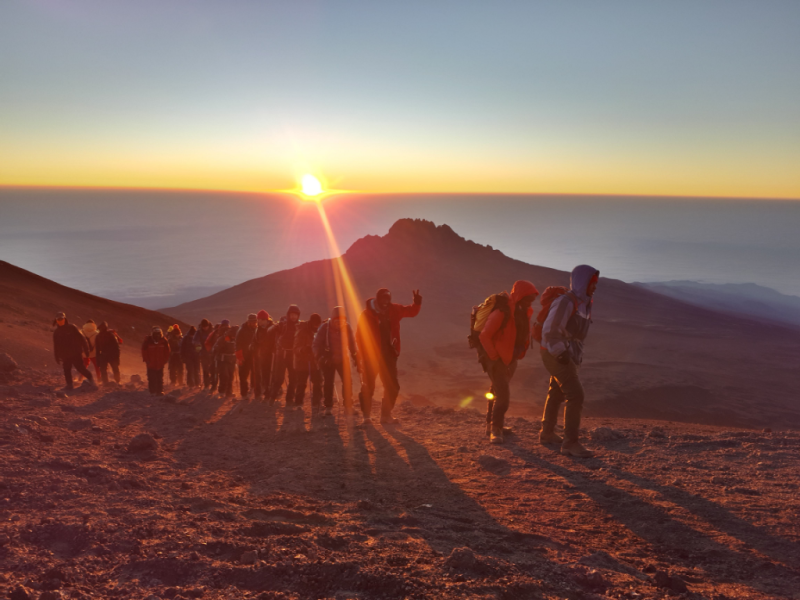 how long it takes to climb Kilimanjaro
