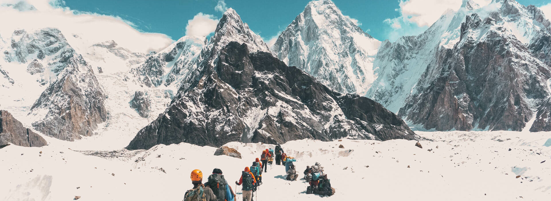 K2 Base Camp with Earth's Edge 3