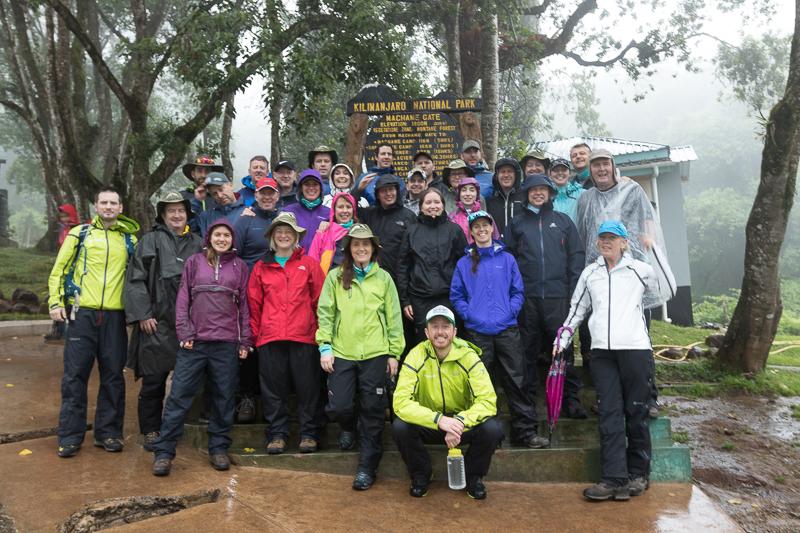 Rain on Kilimanjaro