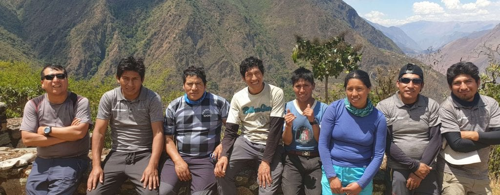 Peru Porters with Earth's Edge