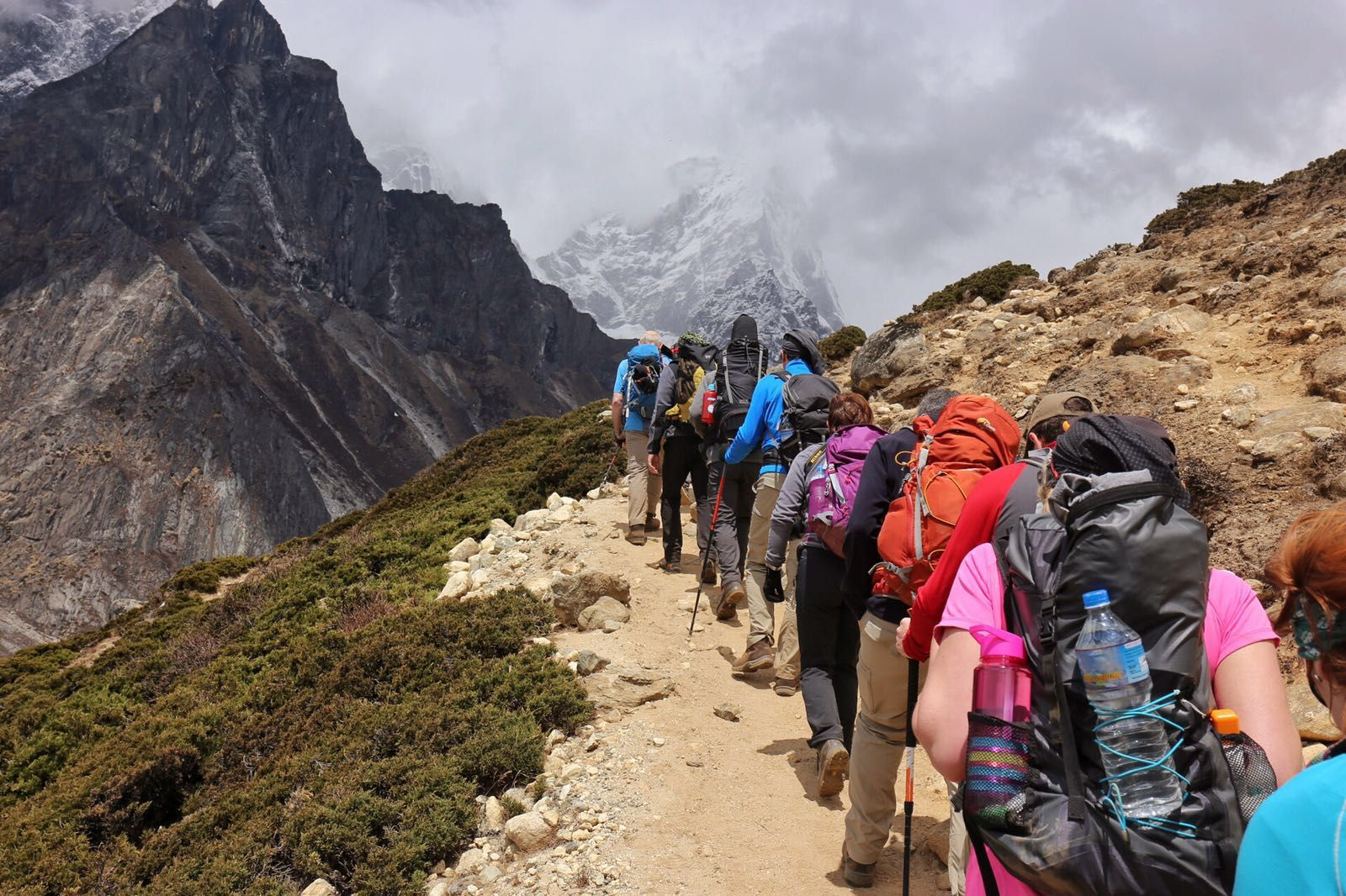 Trekking Everest Base Camp with Earth's Edge