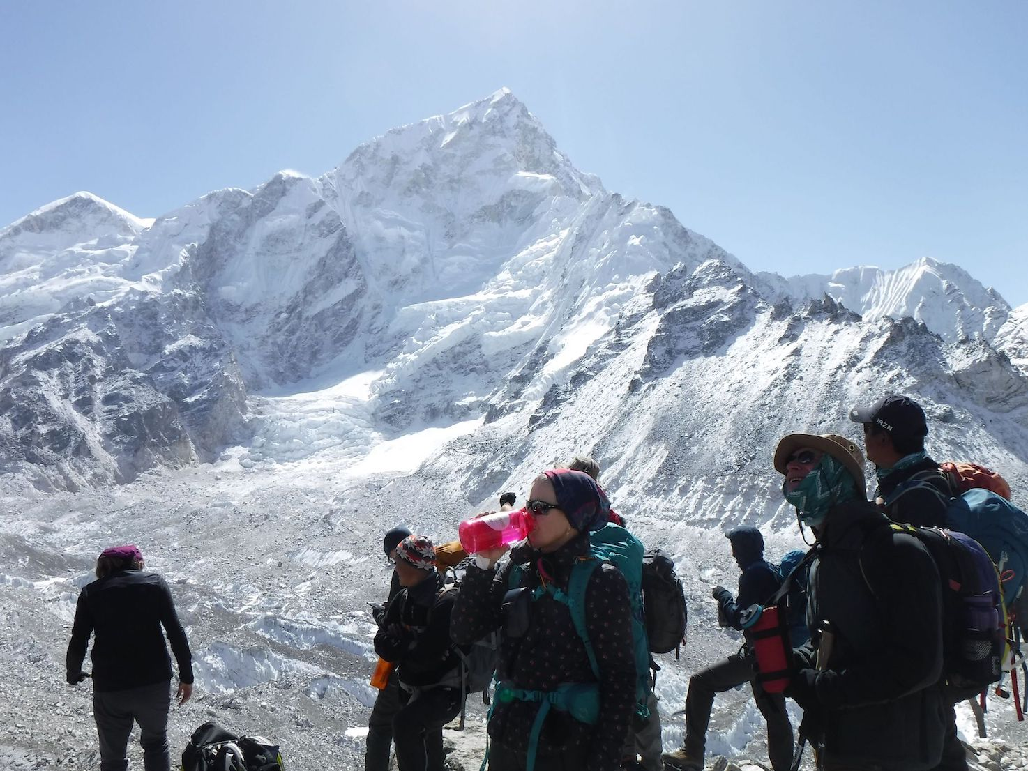 Hydration on Everest Base Camp - Earth's Edge