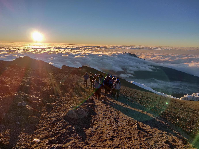 Hiking Kilimanjaro with Earth's Edge