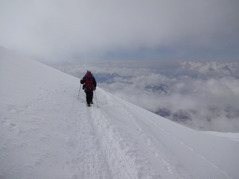 Summit day Mount Elbrus