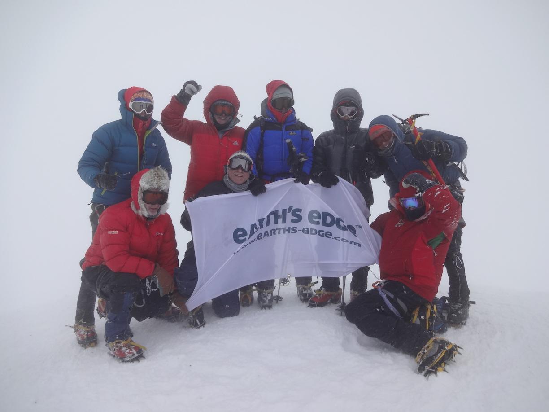 Summit day on Mount Elbrus