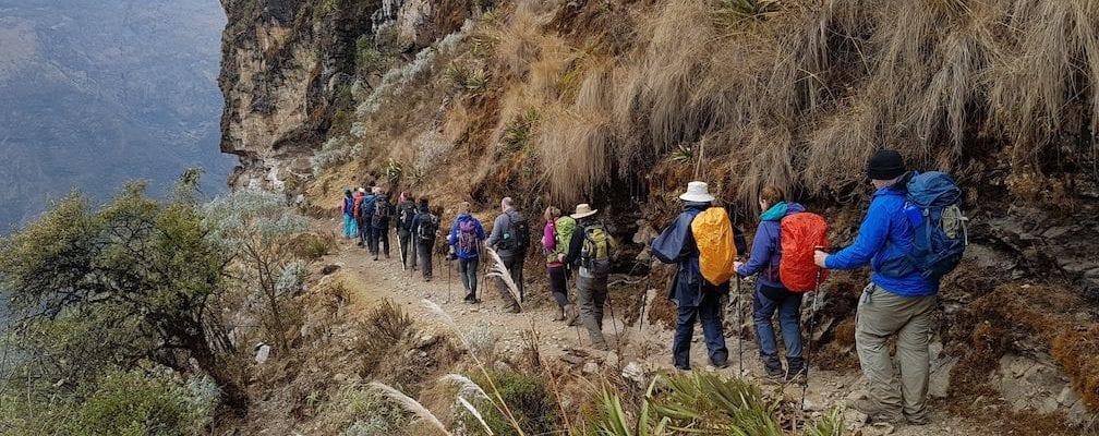 Machu Picchu trek Earth's Edge