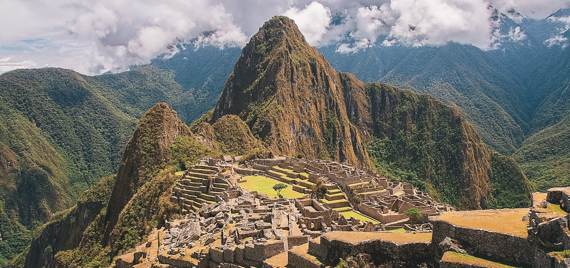 Machu Picchu with Earth's Edge