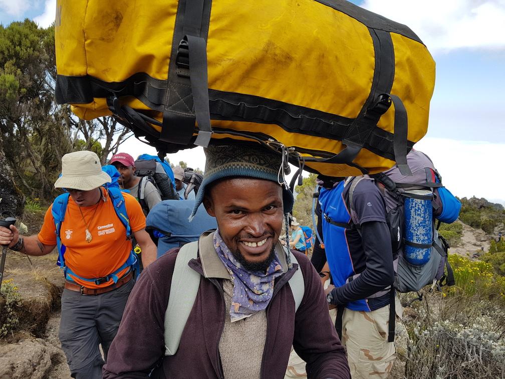 What's the food like on Kilimanjaro