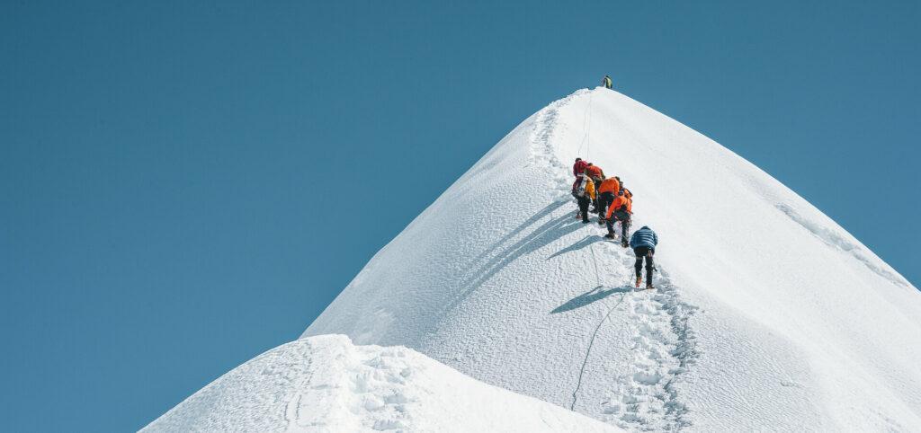 Island Peak with Earth's Edge 2