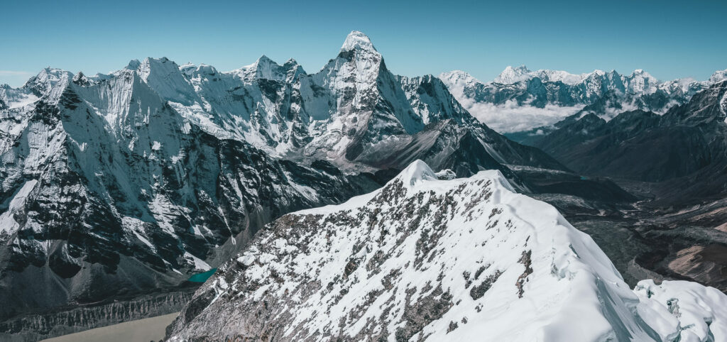 Island Peak with Earth's Edge 1