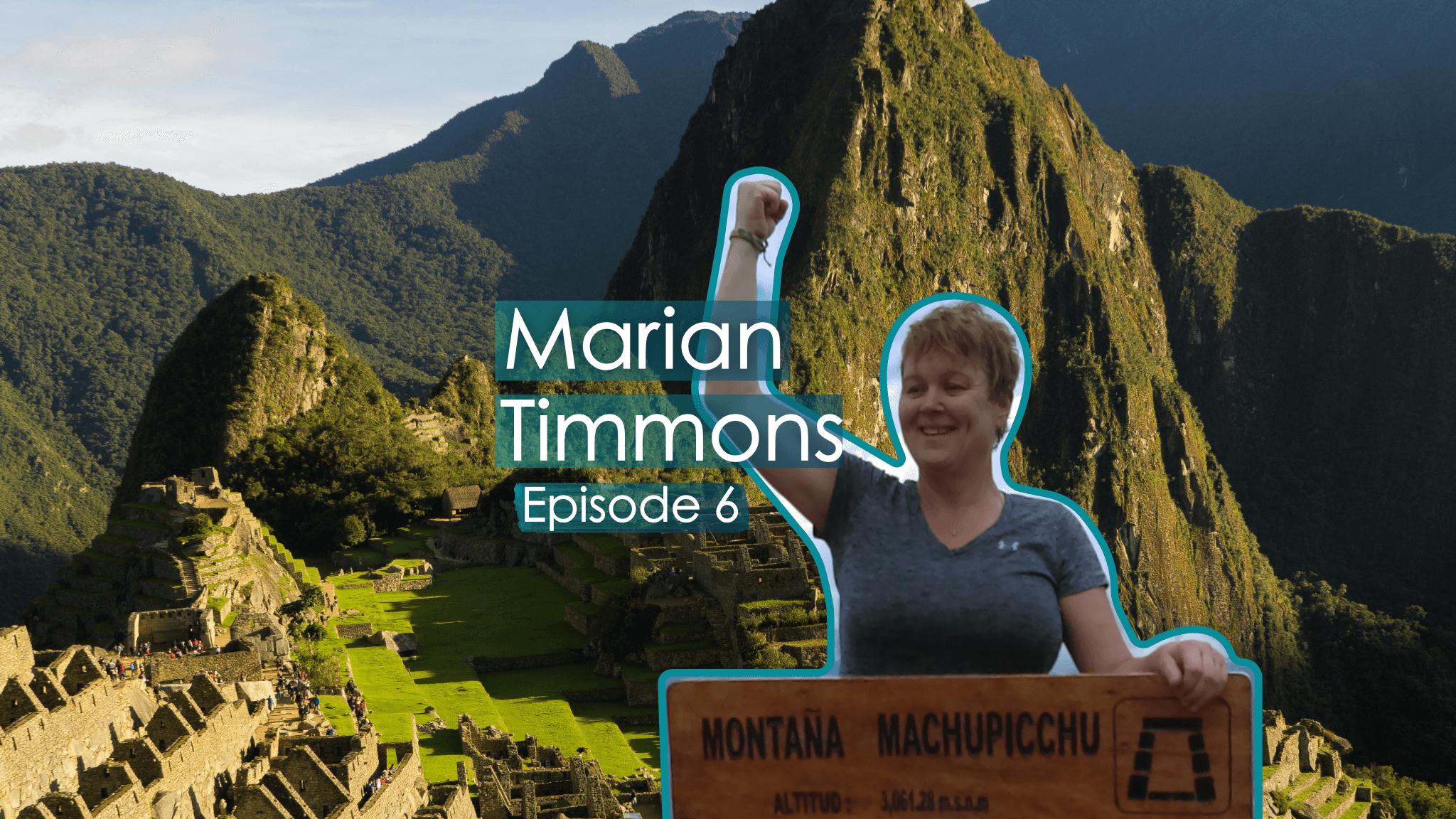 trek into Machu Picchu age 52