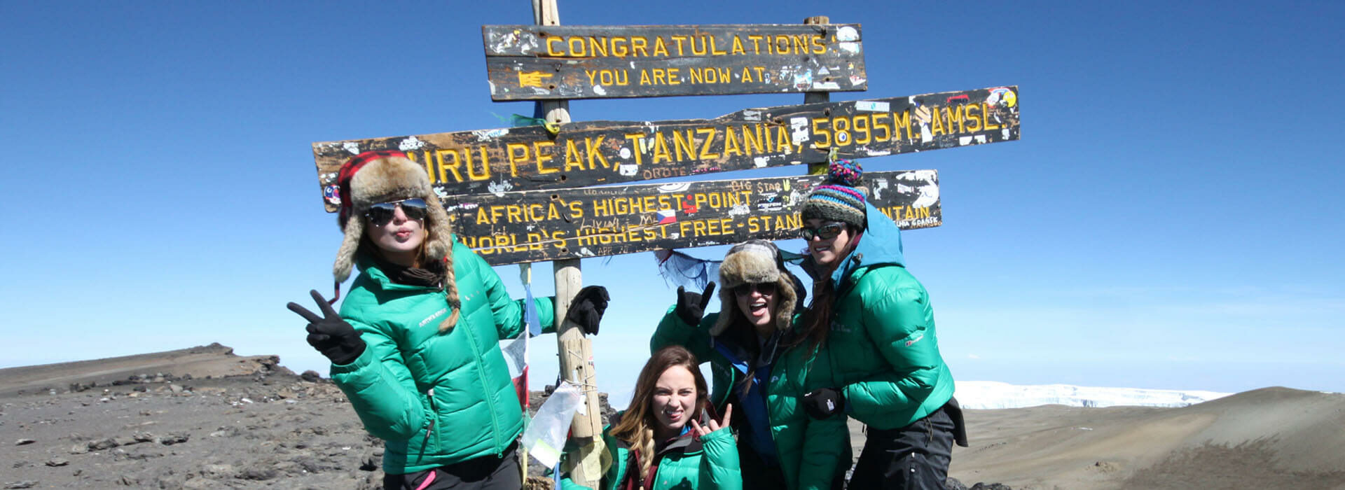 World's First All Female Kilimanjaro Expeditio