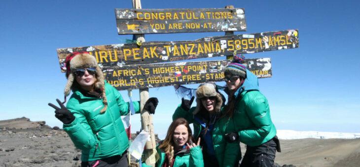 Female Kilimanjaro Expedition
